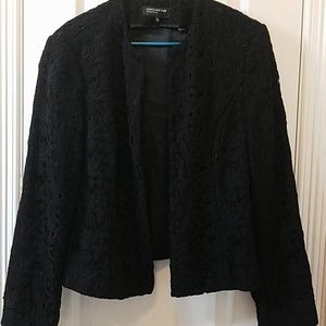 Jones New York Collection Lace type cotton jacket